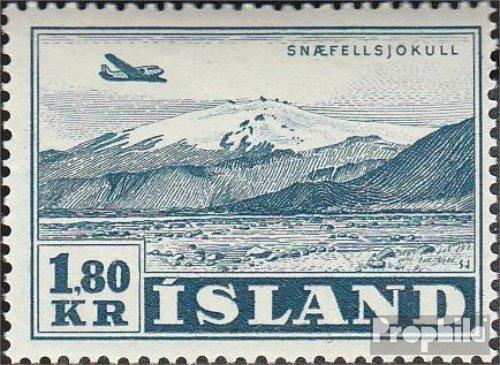 IJsland Mi.-Aantal.: 278 1952 Vliegtuigen (Postzegels voor verzamelaars) luchtvaart
