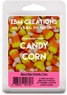 Candy Corn: A warm vanilla candy w//top notes of butter w//a slight down of almond .33 fl.oz. Concentrated Fragrance Oil Infused w//essential oils. Set of 2
