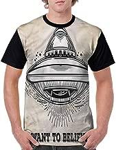 Classic T-Shirt,Galaxy Space Mission Fashion Personality Customization