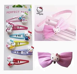 Hello Kitty Hair Accessories for Girls | Hello Kitty Clips Headband Hairpins - Hello Kitty Gifts