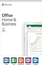 MICROSOFT OFFICE HOME & BUSINESS 2019 for 1 PC/MAC