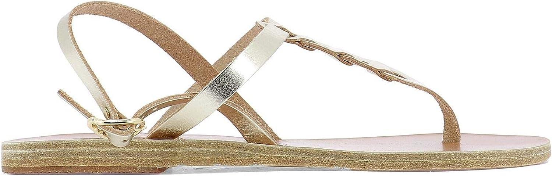 Ancient Greek Sandals Luxury Fashion Damen LITOLINKSPLATINUM LITOLINKSPLATINUM Gold Sandalen   Frühling Sommer 19  großer Verkauf