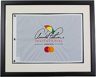 Arnold Palmer Invitational Framed White Golf Flag