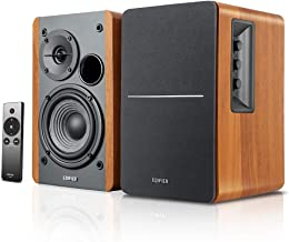 Edifier R1280Ts Powered Bookshelf Speakers - 2.0 Stereo Active Near Field Monitors - Studio Monitor Speaker - 42 Watts RMS...