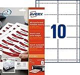Avery Dennison Tarjetas de identificación