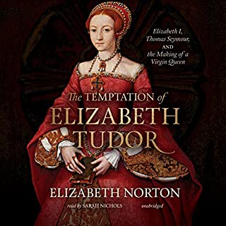 The Temptation of Elizabeth Tudor cover art