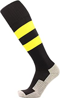 KALAKIDS Youth Soccer Socks 1/3/5/6 Pack Stripe Compression Football Socks