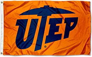 College Flags and Banners Co. Texas El Paso Miners Orange Flag