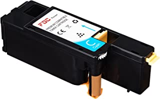 FDC Toner Compatible Dell E525W Printers Toner Cartridges 1 Pack Replacement for Cyan 593-BBJU, VR3NV, H5WFX