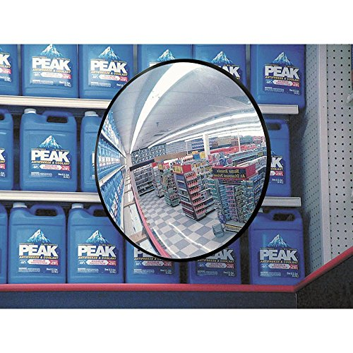 See All PLX18 Circular Acrylic Indoor Convex Security Mirror, 18' Diameter (Pack of 1)