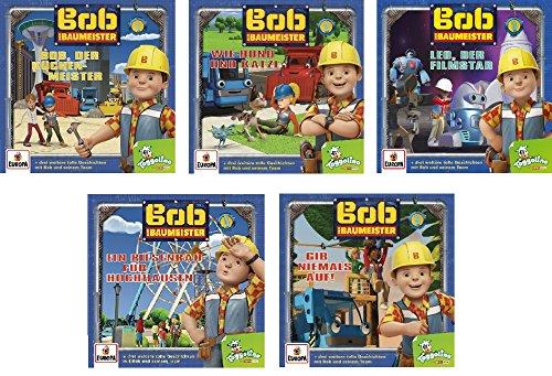 Bob der Baumeister - Hörspiel / CD 1-5 im Set - Deutsche Originalware [5 CDs]