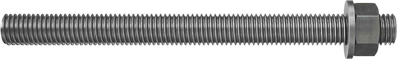 fischer 090444 ankerstang FIS A M 10 x 110 R roestvrij staal, 10 stuks, zilver