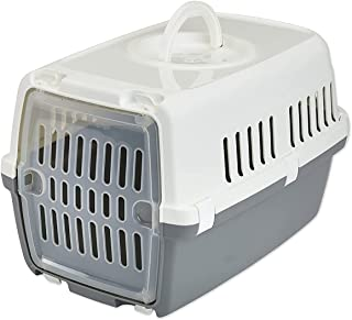 Saivc Zephos 1 Pet Carrier, 19 x 13 x 12 inch, Travel Transport Carrier for Small Dogs and Cats Weighing up to 5 kg, Suita...