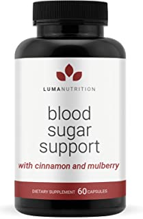 Blood Sugar Support Supplement - Sugar Balance - Alpha Lipoic Acid & Cinnamon & Bitter Melon - Premium Bloo...