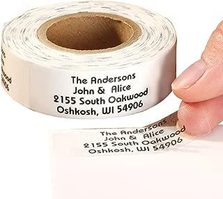 Personalized Self-Stick Address Labels 200 - Silver