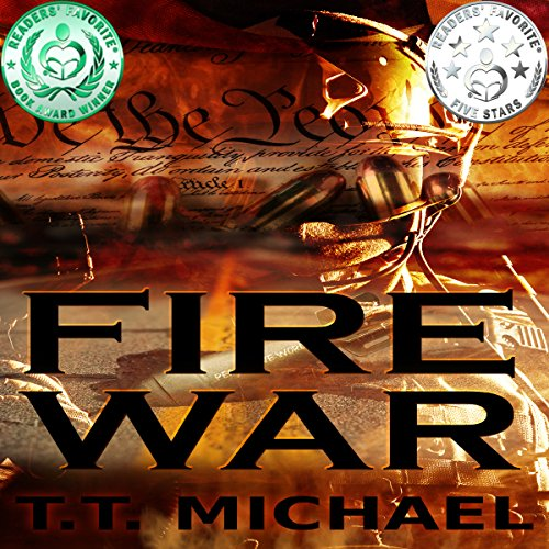 Fire War Trilogy Box Set audiobook cover art