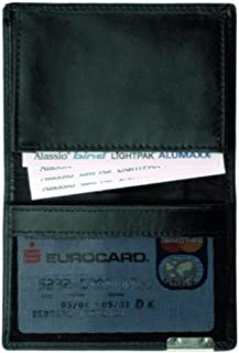 Jüscha 42021 - Tarjetero (11,6 x 9 x 2 cm), color negro