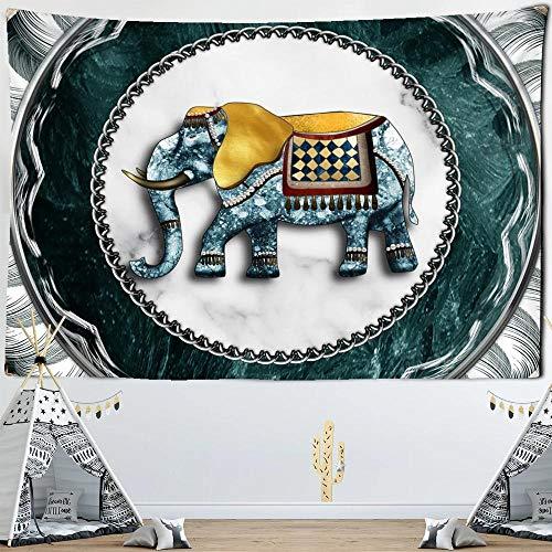 Elefante caballo tapiz tótem insignia Bohemia colgante de pared playa manta fina mantón de yoga estera 150x200cm/59*79pulgadas