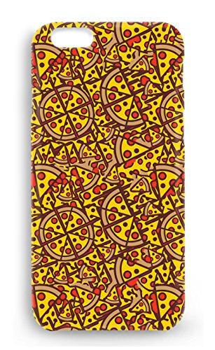 Funda carcasa pizza cartas para Iphone 5 5S plástico rígido