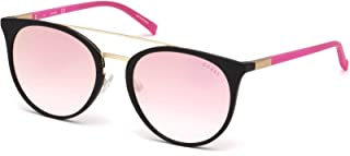 Guess Women's Fashion Sun GU 3021 02U Sunglasses, Rose, 56 mm