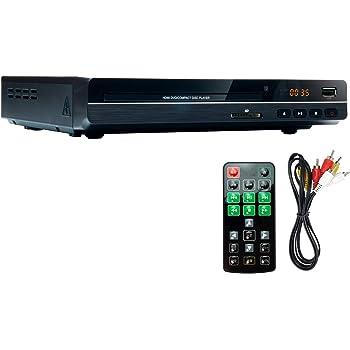 高画質 DVDプレーヤー AVケーブル付 HDMI端子搭載モデル CPRM対応 [リージョンフリー対応] USB端子 音楽 CD リモコン DVD リージョン フリー ケーブル付属 据置 コンパクト【国内メーカー12カ月保証】 t007