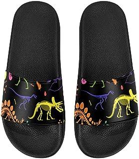Women's Flat Sandals Open Toe Sandals for Summer Beach US6~US12