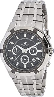 Watch by Olivera For Men, Chronograph, Stainless steel - OGS705