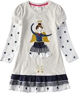 DXTON Toddler Little Girl Winter Long Sleeve Tutu Party Dresses