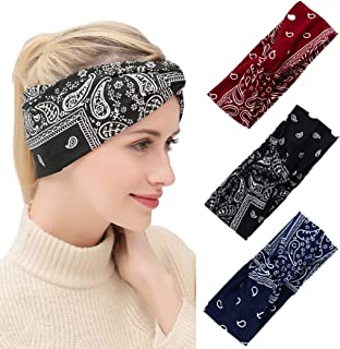Damen Haarreif Yoga Gym Turban Kosmetik Spa Schminke Waschen Haarband Stirnband