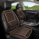 [page_title]-QCZT/Sitzbezügesets Autositzkissen Massage und Breathable-Luxury Modern Car Accessories Pad (Farbe : C)