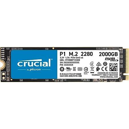 Crucial P1 2tb Ct2000p1ssd8 Internes Ssd Bis Zu 2000 Mb Computer Zubehör
