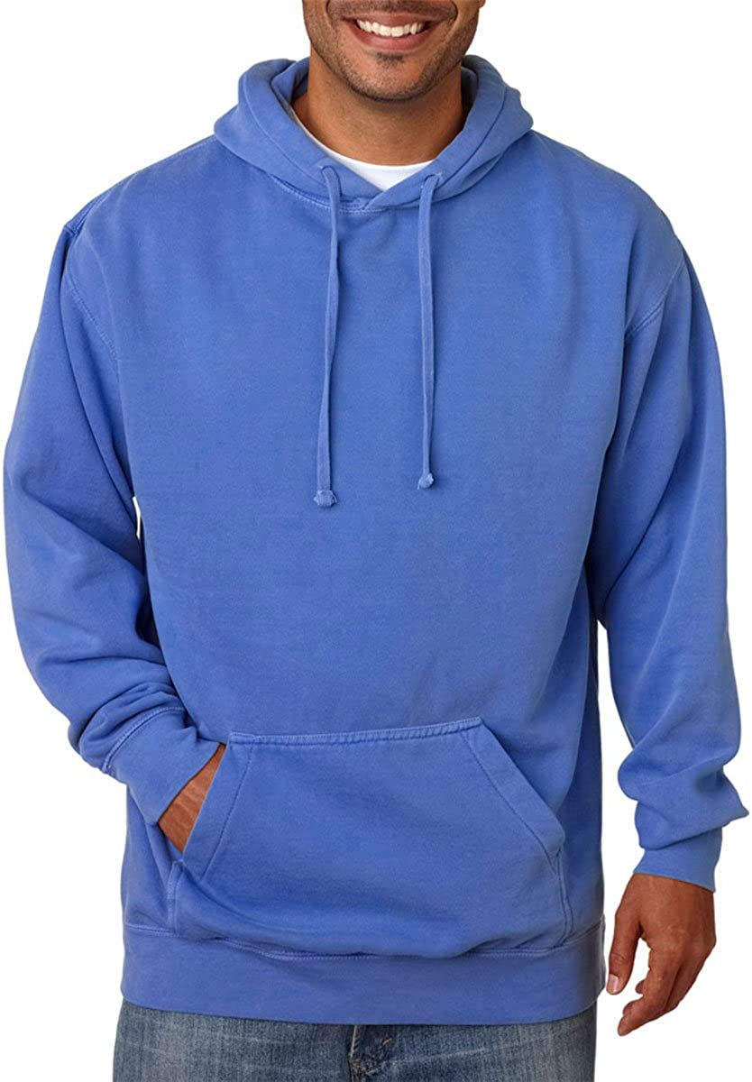 Chouinard Adult Blended Ring-Spun Hooded X Blue Sweatshirt Ranking TOP18 Flo OFFicial mail order