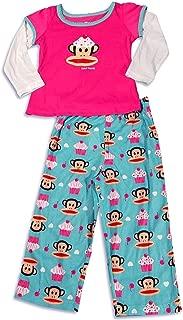 Paul Frank - Little Girls Long Sleeve Monkey Pajamas
