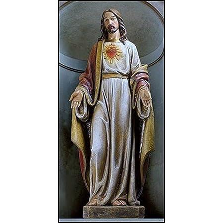 Convient au Salon Sculpture en Bronze Figurine de d/écoration dint/érieur WY-BUILD Jesus Christ Figurine Statue Cadeau,Jesus-2 Figurine d/écorative en r/ésine Abstraite h/ôtel /étude