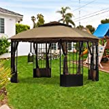 Garden Winds Replacement Canopy for Sutton Pagoda Gazebo - Riplock 350...