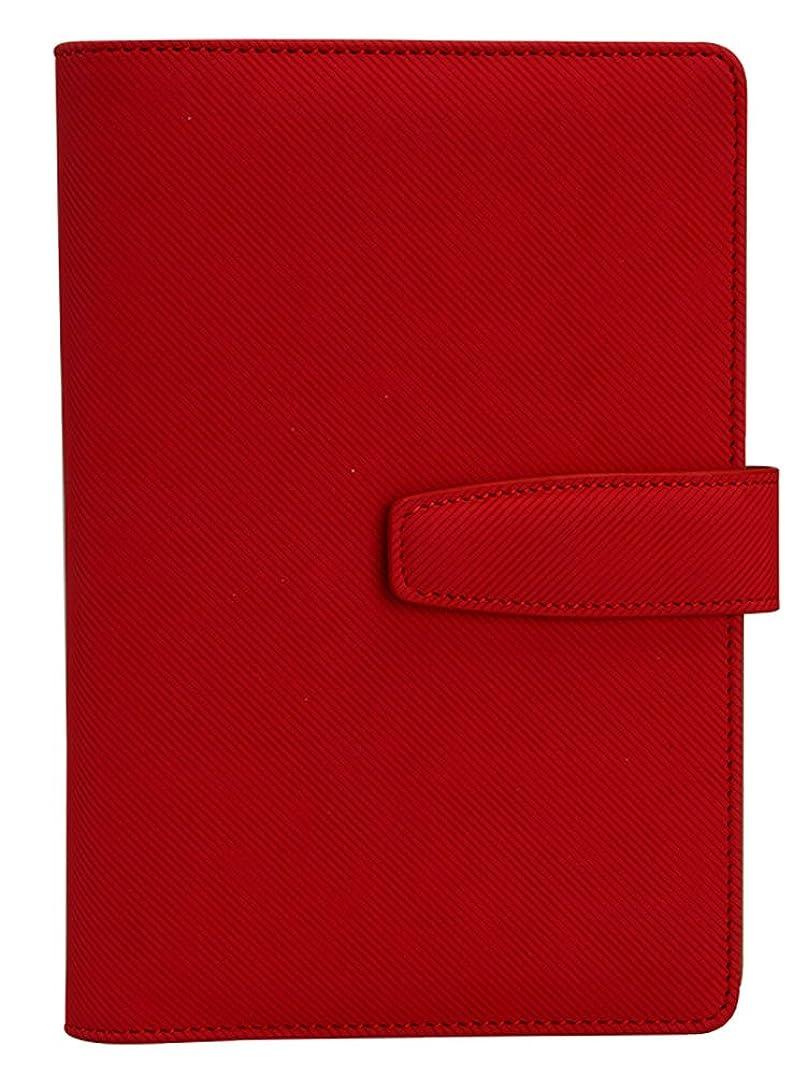 ますますのホストヒューマニスティック[ノーブランド品] カジュアル 機能的 軽量 手帳 B5 レッド