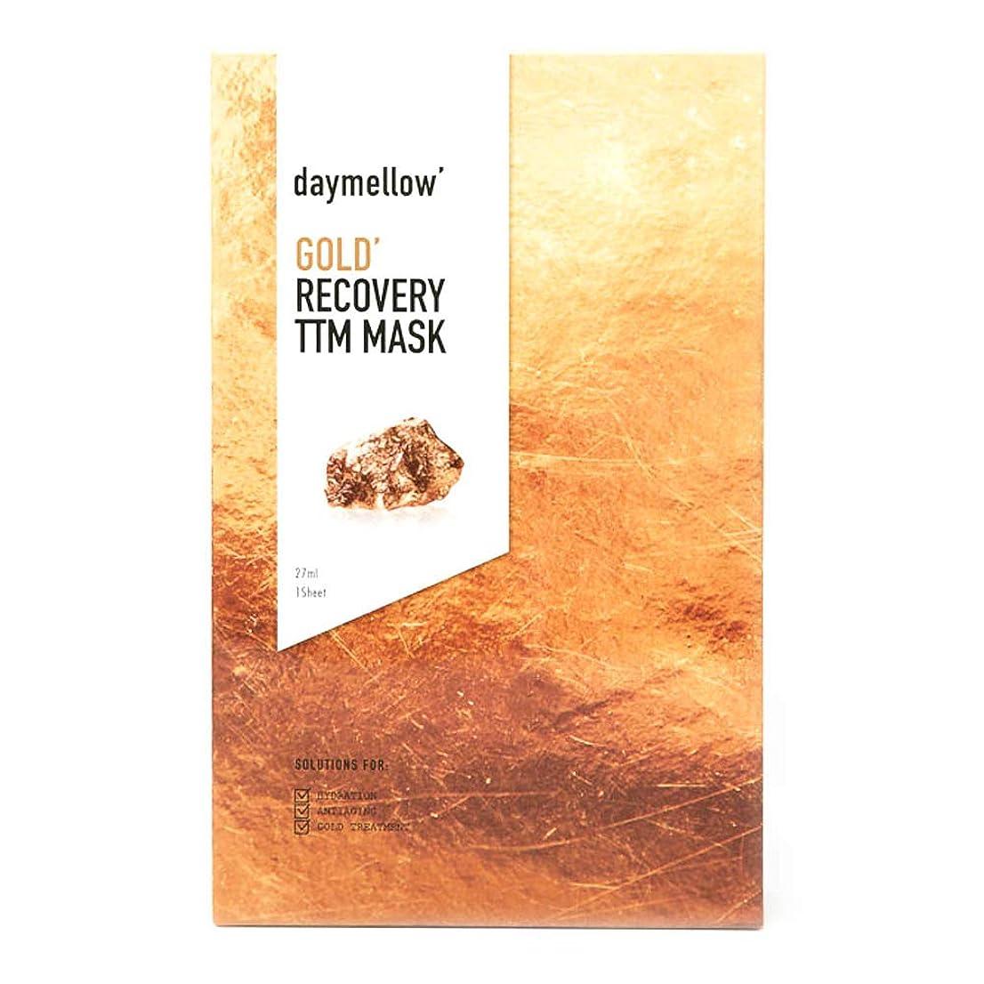 長いです連結するエンターテインメントDAYMELLOW (デイメロー) ゴールド リカバリー TTM マスク