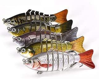 Multi Jointed 7 Segment Swimbait Lures Crankbaits Baits Hard Bait Fishing Lures 4