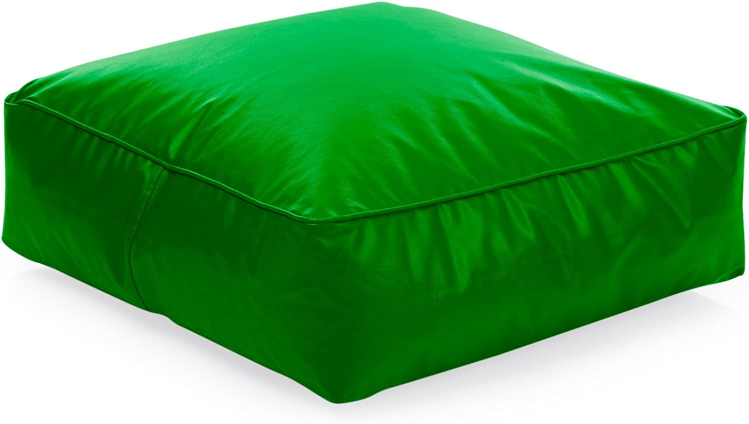 Style Homez Classic Square Floor Cushion L size Green color Cover Only