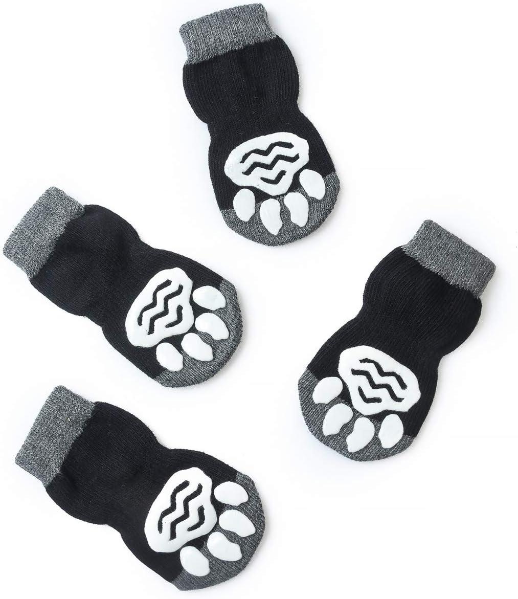 Harfkoko Pet Heroic Anti-Slip Knit It Ranking TOP13 is very popular Dog with SocksCat Rubb Socks