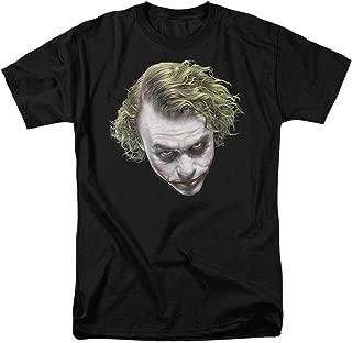 The Dark Knight Heath Ledger Painted Joker Head T Shirts & Stickers