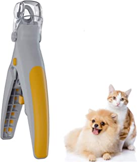 Pet Nail Clipper Illuminated- Features LED Light, Great for Cats & Dogs, 5X Magnification
