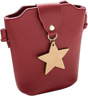 Women Handle Satchel Handbags Shoulder Leather Purses Bag Small Body Bags KIKOY