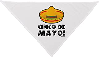 TooLoud Sombrero Design - Cinco de Mayo Dog Bandana 26