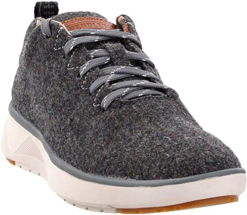 Wool Woherren Lace-Up Water-Resistant Wool Turnschuhe G  Heather, 7