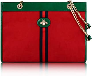 Beatfull Designer Bee Soft Tote Handbag for Women, Fashion Tiger Top Handle Bag Shopping Shoulder bag Tote Set Purse…