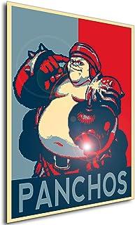 Instabuy Poster - Propaganda - Pixel Art - Golden Axe The Duel - Panchos A4 30x21