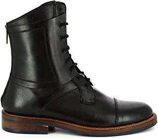 LEONARDO SHOES Luxury Fashion Mens 40616VITELLOBLACK Black Ankle Boots | Season Permanent