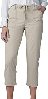 Lee womens Regular Fit Utility Hem Capri Pant Pants