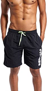 Benficial Men's Shorts Swim Trunks Quick Dry Beach Surfing Running Swimming Watershort Bathing Suits
